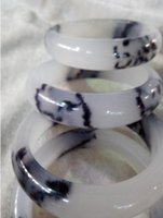 Wholesale Chinese Bangles - NEW HOT 56-60mm Chinese Beautiful Natural Jade Gems Bangle Bracelet