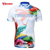 774280fc9 Short Quick Dry Men Tasdan Custom Cycling Jerseys Cycling Clothing Short  Sleeve Top Shirt Clothing Bicycle