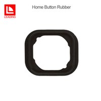 Wholesale home button gasket - Home Button Rubber Gasket Sticker Adhesive Replacement Repair Part for iPhone 5 5C 5S 6 6S 6SP 7 7 Plus