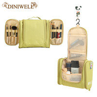 Wholesale Clothes For Travel - Wholesale- DINIWELL Portable Women Waterproof Cosmetic Makeup Storage Organizer Bag For Camping Holiday Travel Outdoors