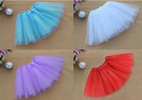 erwachsene kurze tutus röcke großhandel-Party Kleider Erwachsene Frauen Mädchen Tutu Ballett Dancewear Mini Kurzen Rock Pettiskirt Leistung tanz Kostüm Ballkleid bühne tragen 2015