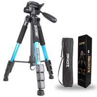 Wholesale tripod camera professional online - ZOMEI Q111 Professional Portable Travel Aluminum Camera Tripod Pan Head for SLR DSLR Digital Camera
