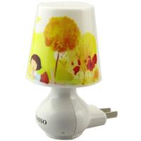Wholesale Sweet Jars - Baymax LED Table Desk Lamp sensor night Light Christmas Gift Creative Cartoon Decoration Lamp sweet Bedroom