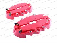 Wholesale Rear Brakes - Free Shipping 4pcs set Universal Without Logo Car Auto Style Disc Brake Caliper Covers Front And Rear