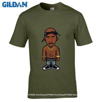 Wholesale America T Shirt Small - design pattern Men t shirt America hiphop rock star t shirt Biggie Smalls 2PAC TUPAC tee shirt clothes color