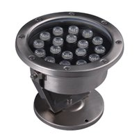 Wholesale 3W W RGB Color LED Underwater Light Swimming Pool Lights Fountain Lamps Waterproof IP68 V V Durable Safety CE ROHS UL