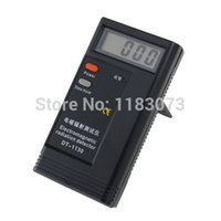 Wholesale Radiation Detector Tester - LCD Electronic Electromagnetic Radiation Detector DT-1130 Digital EMF Meter Frequency Tester For Computer Mobile Phones Free Shipping
