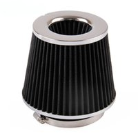 Wholesale Flow Intake - 2016 Free shipping New 4IN Flow Intake Air Filter For Vehicle 101mm&155mm Height Black Stainless Steel