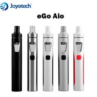Wholesale Ego Battery Lcd Kit - Original Joyetech eGo AIO Vaporizer Kit Top Fill Tank 19mm Diameter 1500mah Battery All-in-one Syetem LCD Display Vs Kanger Evod Mega Subvod