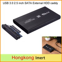 Wholesale Sata Laptop Hard Disk Drive - New USB 3.0 HDD Enclosures 2.5 inch SATA SSD Mobile Disk Box Cases laptop hard drive HDD caddy for Mac OS