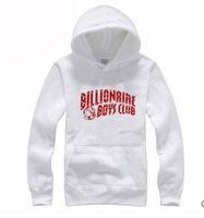 Wholesale Boy S Cap - Wholesale-2016 Winter Fleece Men Hoodies Pullover Of BBC Billionaire Boys Club With Cap Cotton Hip-hop Night Club Hoody For Men Juvents