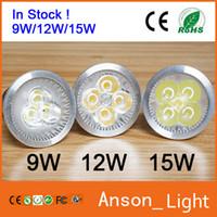 Wholesale 15w Mini Led Spot - In Stock ! Mini LED spotlight price 9W 12W 15W Dimmable GU10 MR16 E27 Led Spot Lights Spotlights Bulb Downlights Lighting CE