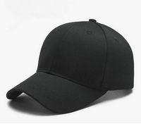 ingrosso cappellini da baseball in stile coreano-Cappelli con visiera in cotone a tinta unita, cappelli con visiera in cotone tinta unita