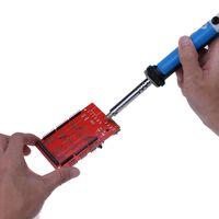 Wholesale iron vacuum - New Soldering Iron Strong Suction Capabilities Stylish Soldering Tools Tin Pump New Electric Vacuum Tin Sucker Iron