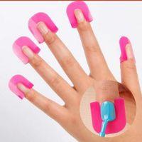 Wholesale Fiberglass Design - 1 Set 26Pcs Pro Manicure Finger Nail Art Case Design Tips Cover Polish Shield Protector Tool