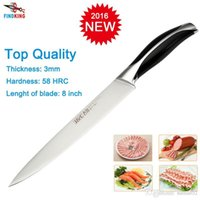 D051 Brand New Stainless Steel 7Cr17 As 440C Top Quality 8u0027u0027 Inch Fileting  Fish Knife Kitchen Chef Knife Slicing Knife