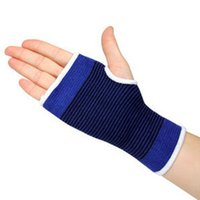 Wholesale Health Training - 100% Cotton Knit Wrist Guard Palm Gauntlets of Sports and Fitness Training Health Thermal Protectors 2PCS Set