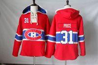 Wholesale Full Free P - Montreal Canadiens Jerseys Blank 31 Carey Price 14 Tomas Plekanec 67 Max Pacioretty 76 P K Subban Hoodies Sweatshirts Free Shipping