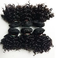 Wholesale queens kinky curly hair for sale - Group buy Beautiful queen Brazilian virgin human Hair inch Kinky Curly hair double weft g pc g Indian remy Hair For Sale Factory Price