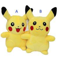 Wholesale pokemon video games for sale - 7 Inch cm Poke go Pikachu Plush dolls toys EMS NEW style children Charmander Jeni turtle Poke Ball Plush dolls toy B001