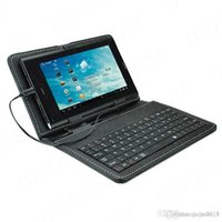 """Wholesale Novo Keyboard - New Universal 7 inch USB Keyboard Case Cover Stand Case for Tablet PC 7"""" Ainol Novo 7 Fire Onda Ampe Cube"""