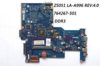 Wholesale motherboards for hp - Classy Laptop Motherboard For HP 15-G Laptop PN 764267-501 ZS051 LA-A996P REV:4.0 AMD CPU Integrated Graphics DDR3 100% Work