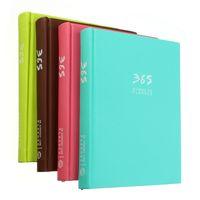 Wholesale Calendar Notebook - Wholesale-2016 New A5 365 Days Hardcover Notebook Agenda Month Planner Daily Memo Plan Schdule Notepad School Stationery Calendar Book