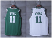 Wholesale Size New - 2018 New season 11 Kyrie Irving Mens Basketball Jerseys Top quality Size S-XXL Men Sport Irving Jersey
