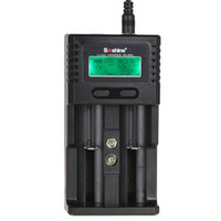 Wholesale Soshine H2 - Soshine SC-H2 Intelligent Battery Charger for Li-ion   Ni-MH   LiFePO4 Battery with 2 Slots