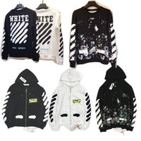 Wholesale New Hot Fashion Sale Brand Clothing Off White Men Hoodies Print Cotton Shirt Offwhite men Women jacket Hoodies styles S XL