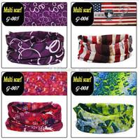 Wholesale Hair Band Magic - Bandanas Multifunctional Outdoor Cycling Scarf Magic Turban Sunscreen Hair band DHL Fast Shipping