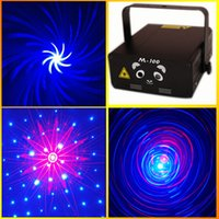 Wholesale Pro Professional Dj - Disco Bar Mini laser light show 250mW Red&Blue Pro Stage Lighting Sky Star Hot Wheel 3D Galaxy Laser Light CE,RoHS approval