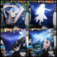 Wholesale Asuna Pillow - Anime Sword Art Online Kirigaya Kazuto Yuuki Asuna Yui Kirigaya Suguha Ayano Keiko soft and comfortable Cushion pillow present