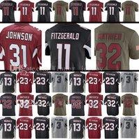 Wholesale Mathieu Football Jerseys - Men's 11 Larry Fitzgerald 31 David Johnson 32 Tyrann Mathieu Jersey 13 Kurt Warner 3 Carson Palmer 21 Patrick Peterson Jerseys