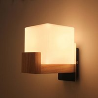 Northern Europe Style Holz LED Wandleuchte Lampen für Home Lighting Bett Licht, Wandleuchte Arandela Lamparas De Pared
