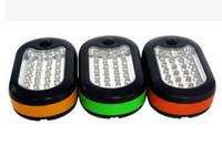 Wholesale 27 Led Work - 27 LED light machine maintenance lamp repair car lights work lights repair lights tent lights emergency flashlight magnet hook 1pcs