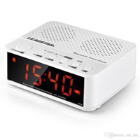 Wholesale Hifi Audio Amplifier - Home Surround Sound Wireless Speakers Subwoofers FM Amplifier Radio Portable Alarm Clock Multifunction With LED Time Display TF HandsFree