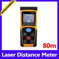 Wholesale Cheapest Range Finders - Cheap Portable Electronic Digital 80M Range Finder Laser Distance Meter MOQ=1 free shipping