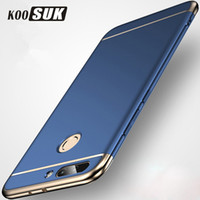 Wholesale v8 cover - Huawei honor 9 8 lite 7X 6X 5X Case Gold Plated Back Cover Huawei Honor 8 Pro V9 V8 hard Case protection shell