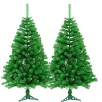 Wholesale Fibre Christmas Trees - 2018 New 150cm height Naked Christmas Tree With 280 Branches Xmas Tree Decoration For Christmas Product Code : 95 -1170