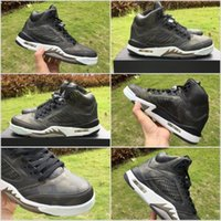 Wholesale Room Culture - 2017 cheap Mens Retro 5 CAMO Basketball Shoes Sport camouflage trophy room 5s V Fashion Sneakers Grey Red Training Shoes