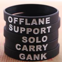 "Wholesale Custom Wrist Bracelets - Color Filling Debossed Silicone Bracelets Custom Wrist Band Jelly Promotional Bracelet Cheap 0.5""*8"" Free Shipping"