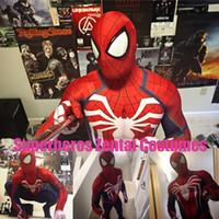 Wholesale Spiderman Spandex Bodysuit - Spiderman Men Woman Costume Spandex 3D Print Super hero suit party cosplay Costume Custom Made Halloween Party Cosplay Costume Bodysuit