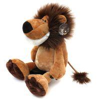 "Wholesale Lion Plush - 1pcs 10"" 25cm Popular NICI Lion Stuffed Doll Plush Jungle Series Animal TOYS Free Shipping"