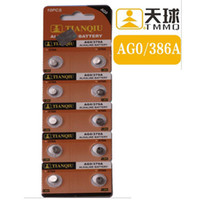 Wholesale Lr521 Button Cell - Button Cell Coin Batteries Alkaline Alcaline Alcalina AG0 LR521 379A Watch Battery Calculator Computer Camera Electronic Toys scale Balance