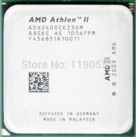 Wholesale Processor Dual Core Am3 - AMD Athlon II X2 240 processor (2.8GHz 2MB L2 Cache  Socket AM3) Dual-Core scattered pieces cpu cpu 2