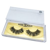 Wholesale fast hair styles - New Styles feathery shine 3d mink hair eye lash extensions real mink hairs false eyelashes fast shipping