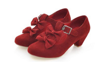 ingrosso scarpe da principessa per le donne-2017 nuove scarpe primavera ed estate scarpe donna fibbie in pelle per donna grandi fiocchi per principesse e fiocchi per Principesse