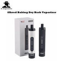 Wholesale Lipo Wholesale - Authentic Yocan iShred Baking Dry Herb Vaporizer 2600mAh Built In Lipo Capacity Herbal Vape Pen VS Titan Hebe