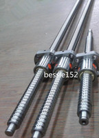 Wholesale C7 Ballscrew - 3 ballscrew RM1605-400 600 600mm anti backlash ball screw-C7 + 3 ballnuts CNC